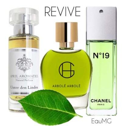 reviving green fragrances