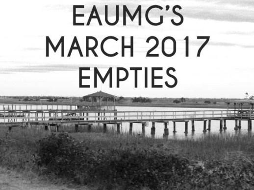 March 2017 Empties