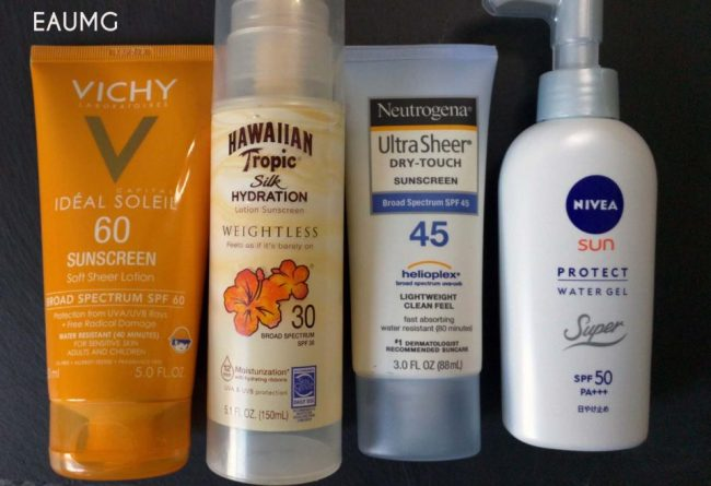 favorite sunscreens