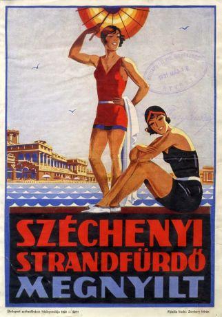 vintage Budapest spa