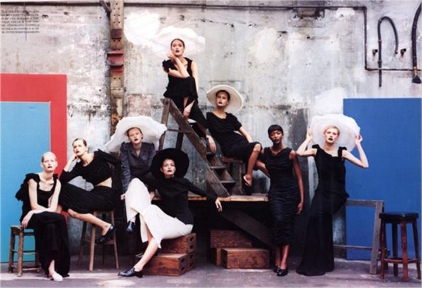 Peter Lindbergh Vogue Italia