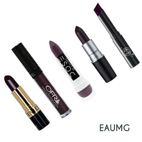 dark purple lipsticks