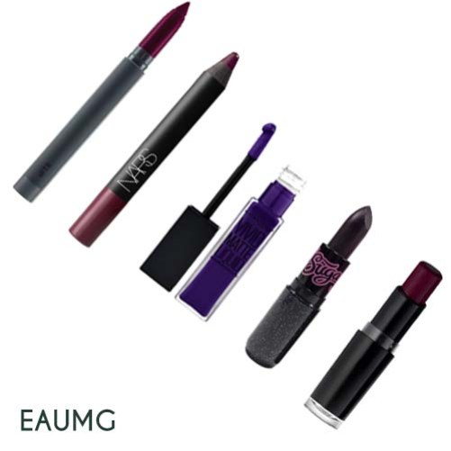 dark purple lipsticks