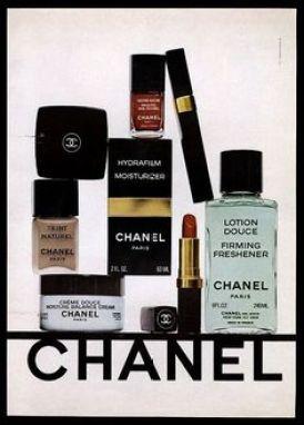 Chanel 1978 makeup ad