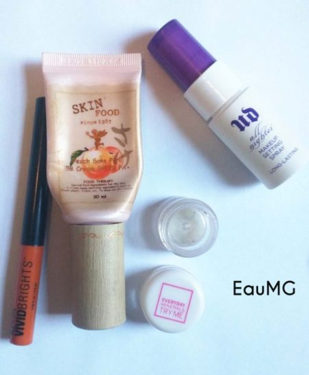 October makeup empties