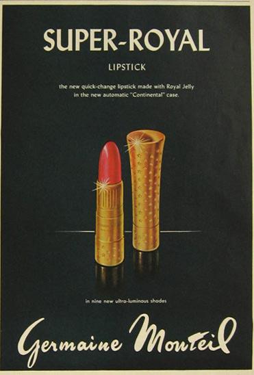 1958 Lipstick Ad