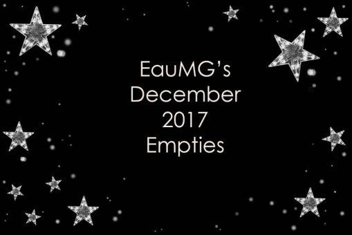 December 2017 empties