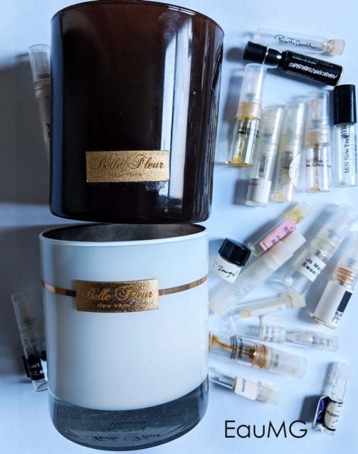 EauMG's fragrance empties
