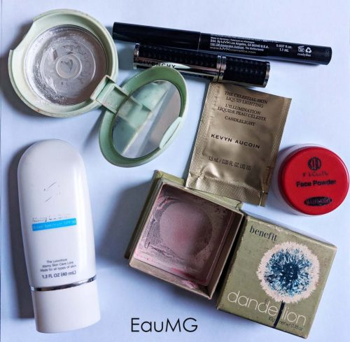 December makeup empties