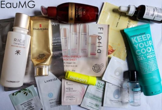 January 2018 skincare empties