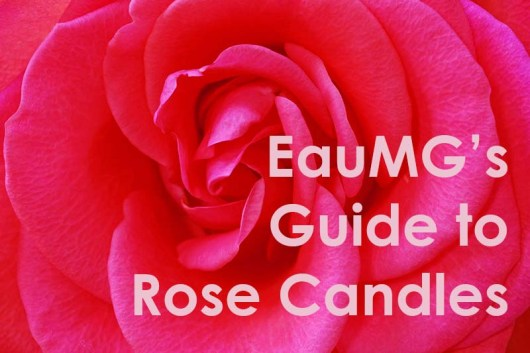 Rose candle guide