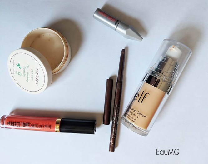 August 2018 makeup empties