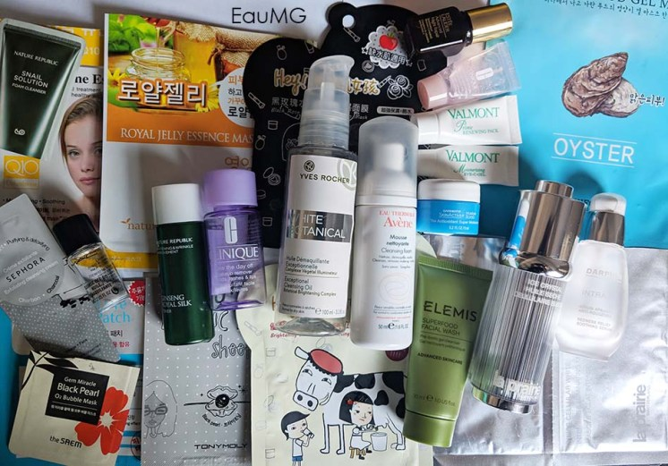August 2018 skincare empties