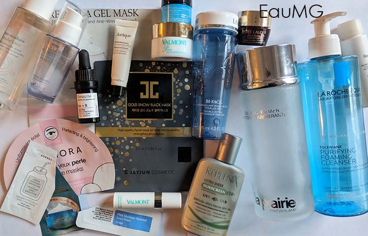 November 2018 skincare empties