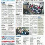 Nice-Matin- du 20 Janvier 2012 Les jeunes sensibilisés au problème de l'eau
