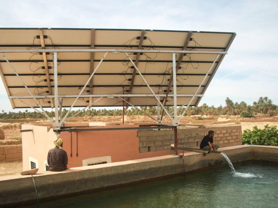 Pompage solaire au Maroc