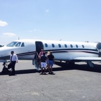 private jet josh cote credico fancy