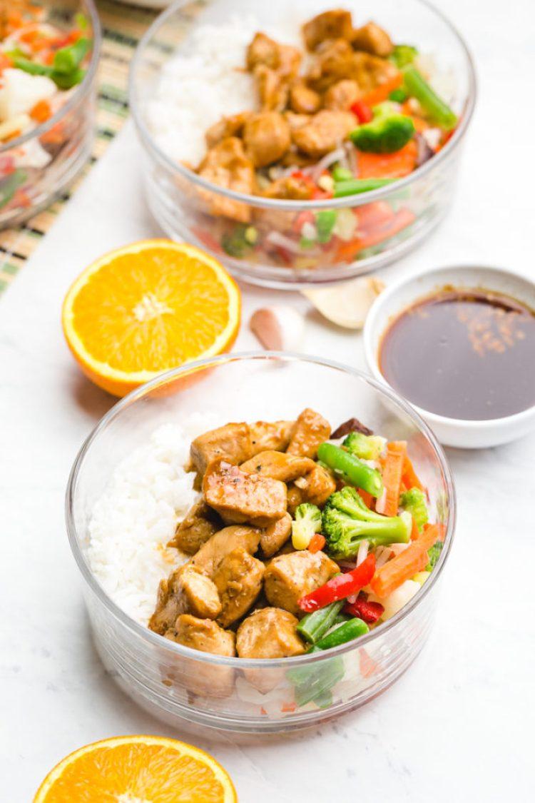 Freezer teriyaki chicken rice bowls, delicious rice bowls