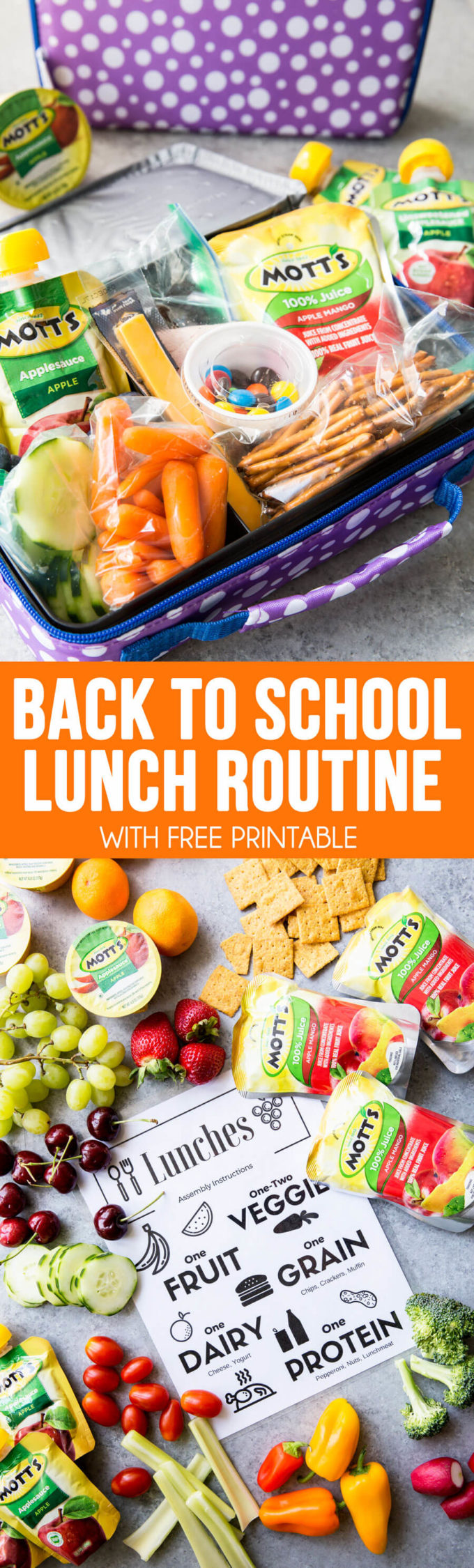Back to School Lunch Routines