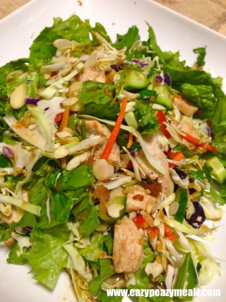 chopped salad, asian