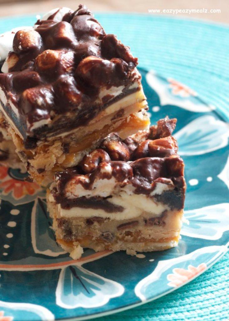 dessert, sugar coma bars