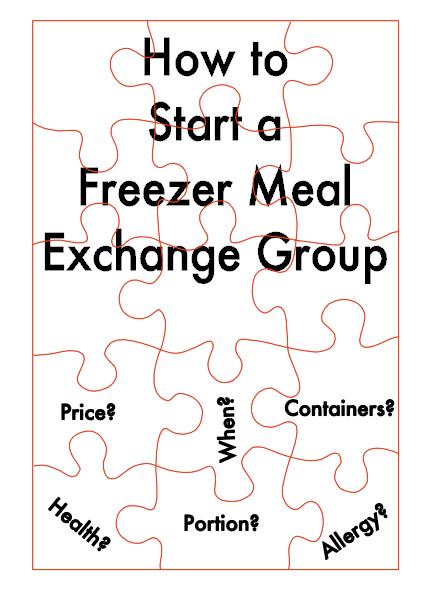 freezer meal exchange group