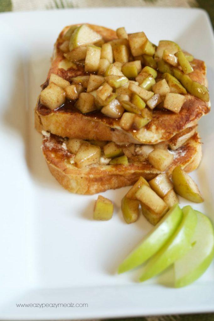 apple pie frenchtoast