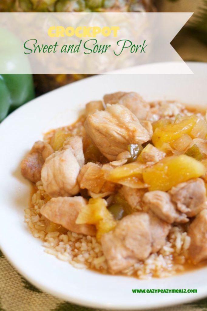 crockpot sweet and sour pork