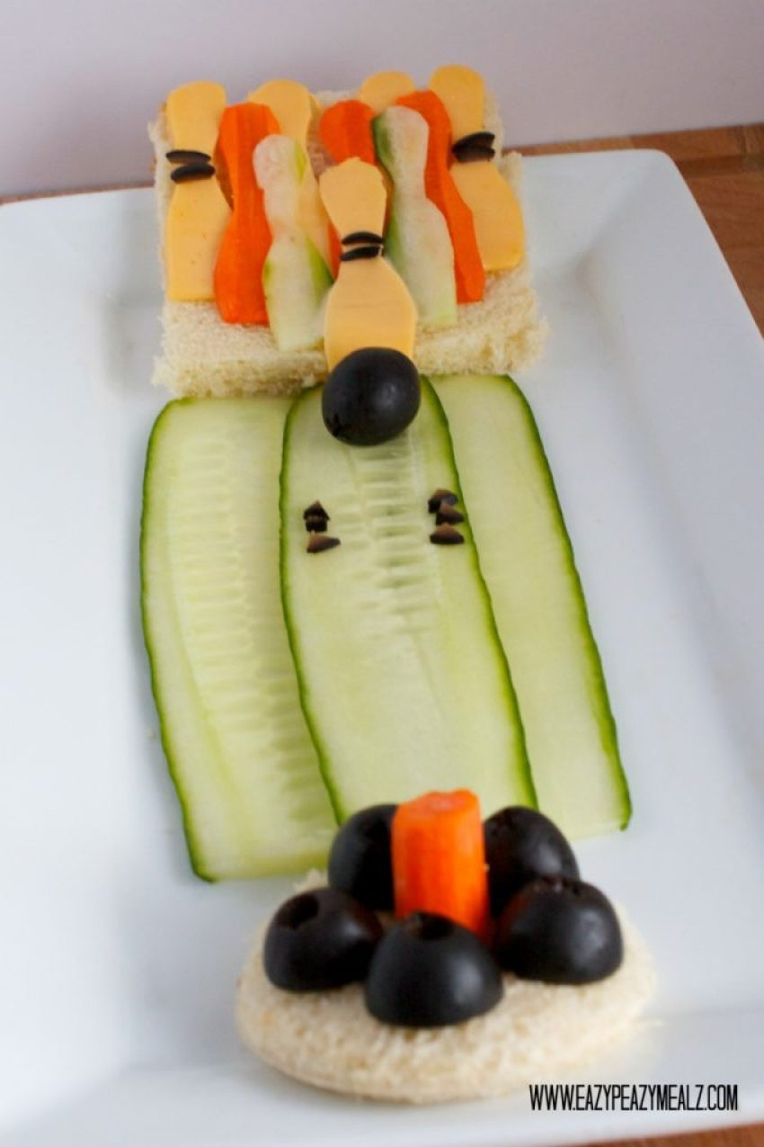 bowling food art
