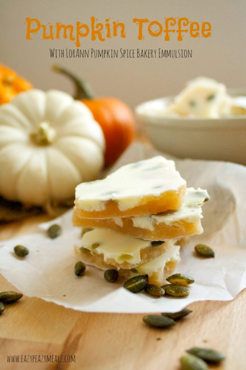Pumpkin Toffee