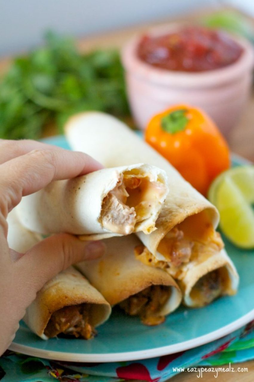 cheddar beef taquito