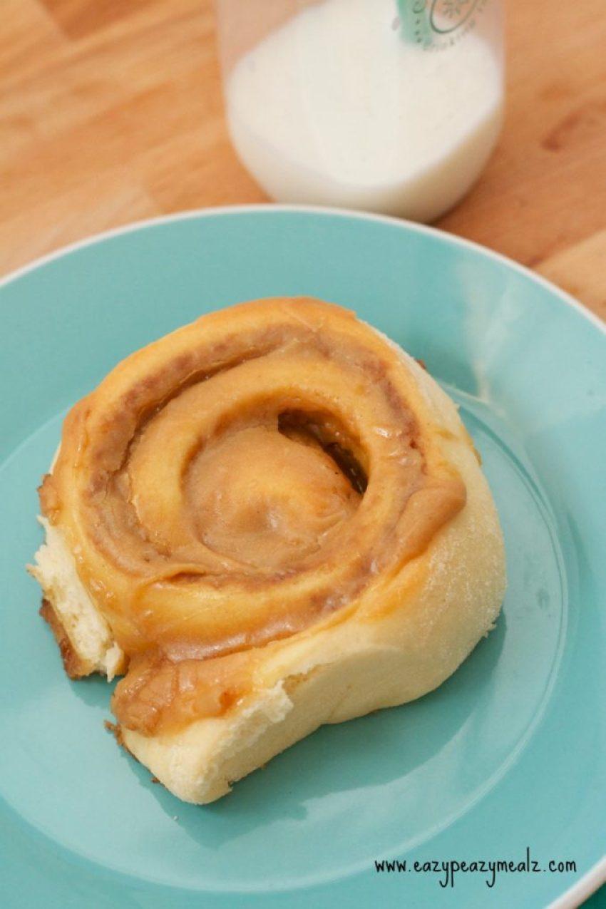 cookie butter cinna roll