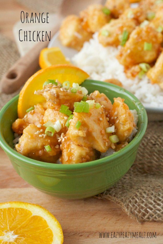 Orange Chicken Easy Peasy Meals