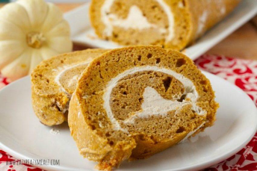 cake roll pumpkin gluten free