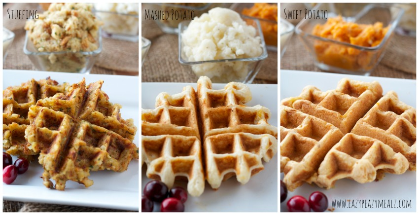 leftovers waffles #stuffing