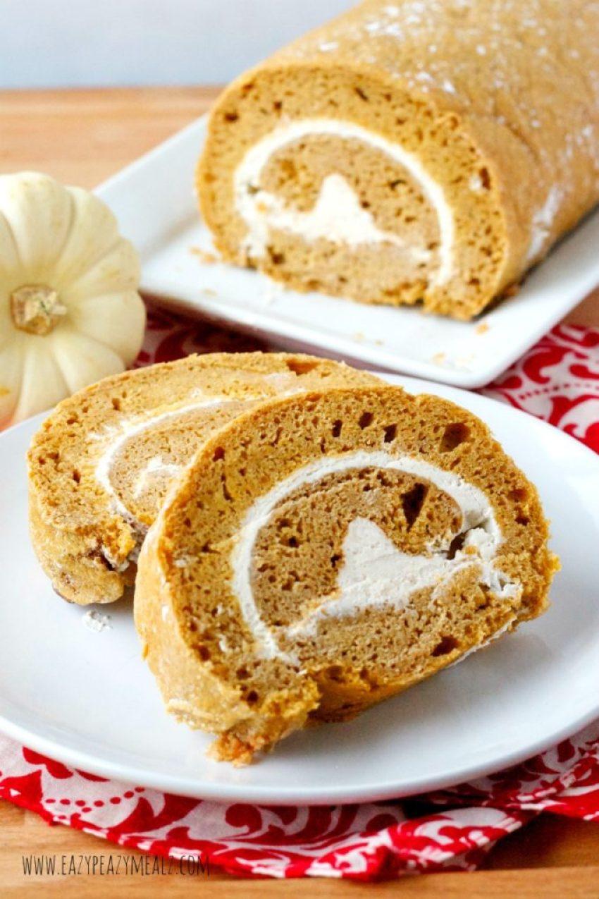 pumpkin roll #Glutenfree