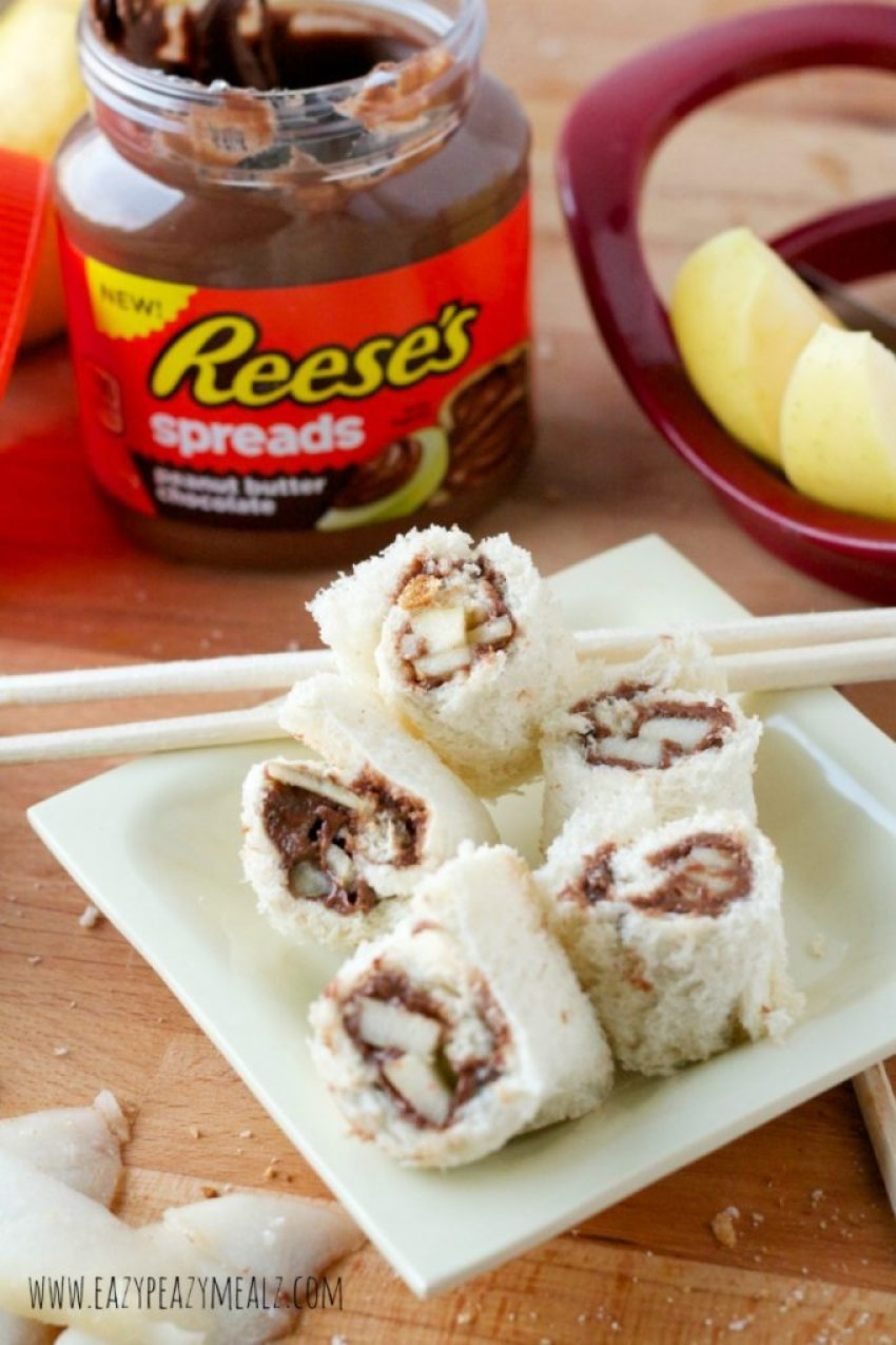 reese's sushi snack