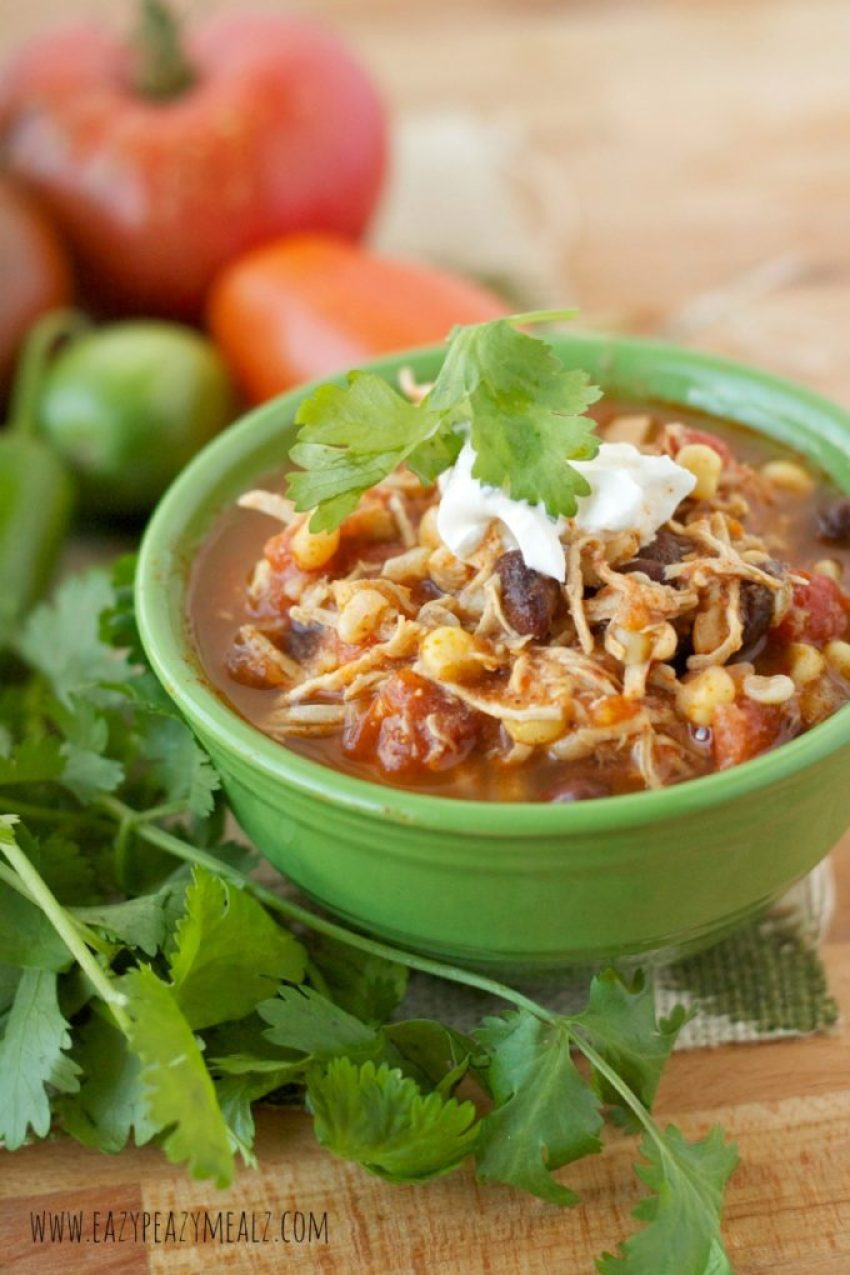 soup chicken enchilada