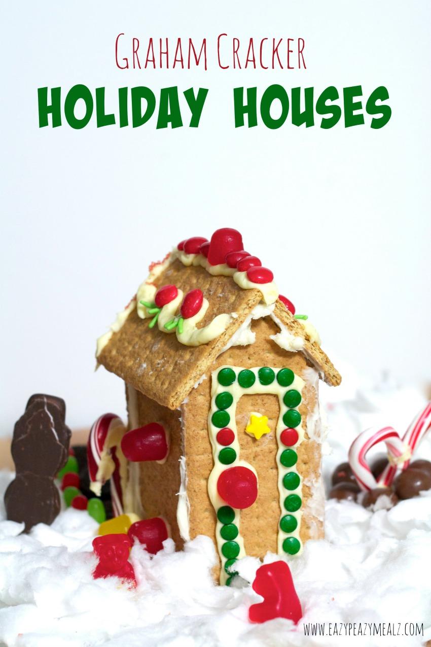 holiday houses graham cracker, honey maid