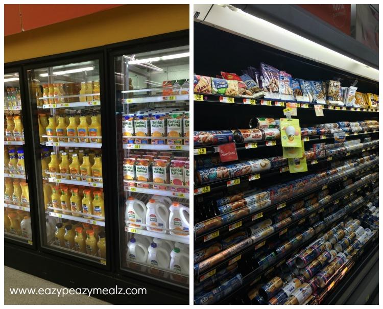 Walmart Aisle for FL OJ and PF