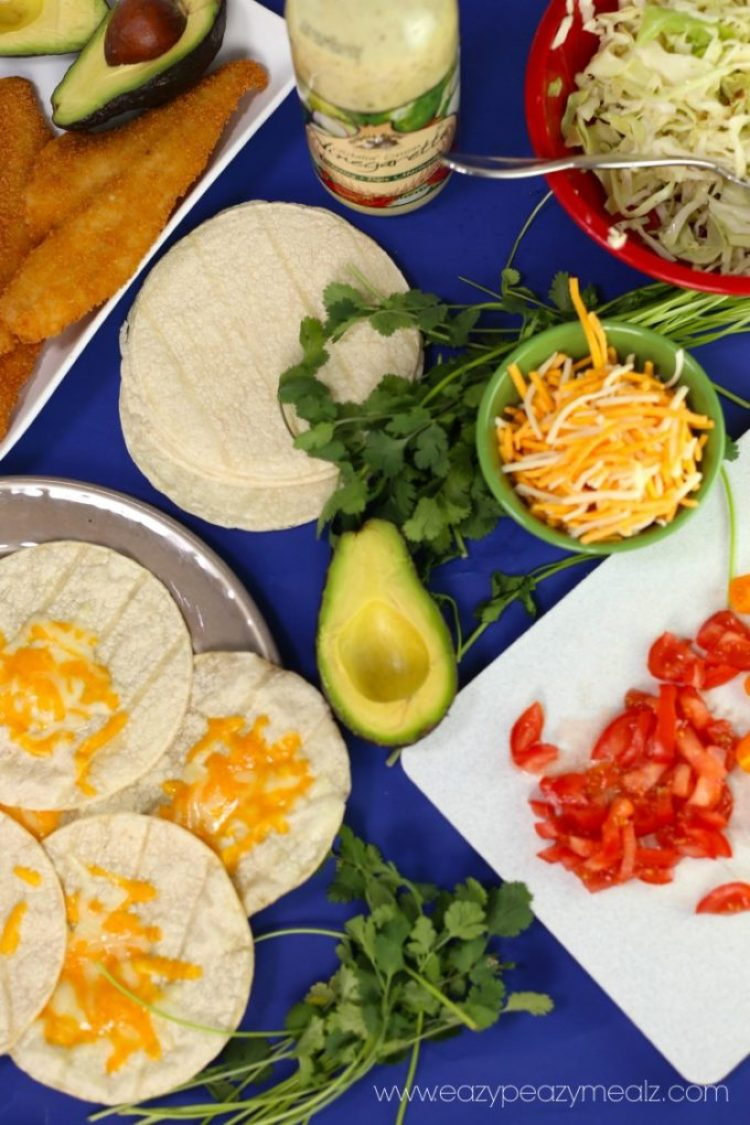 Fish Tacos Ingredients Recipe
