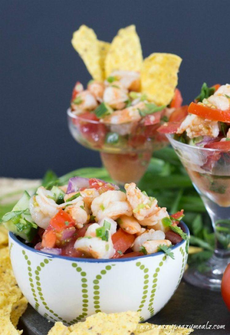 Shrimp ceviche  5