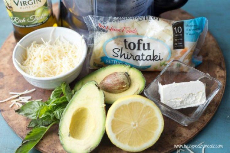 creamy avocado ingredients 2