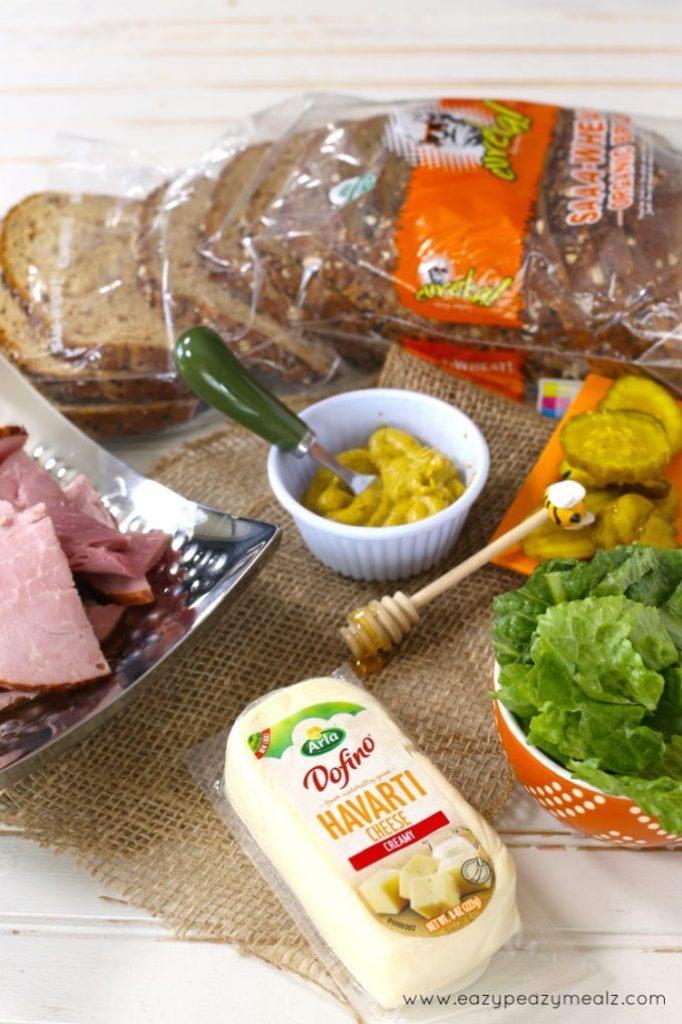 ham and havarti ingredients