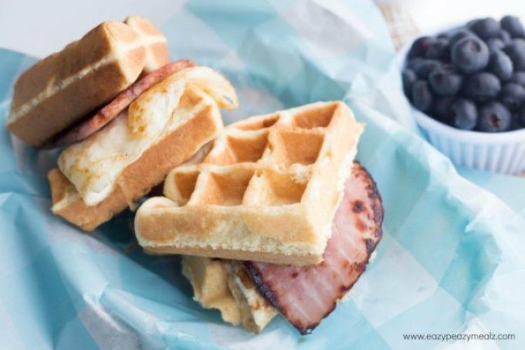 Protein breakfast sammy 3