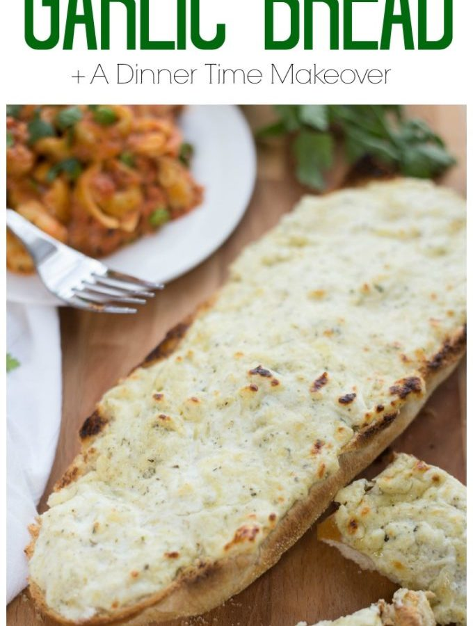 Get cheesy delicious garlic bread in just 5 minutes time!