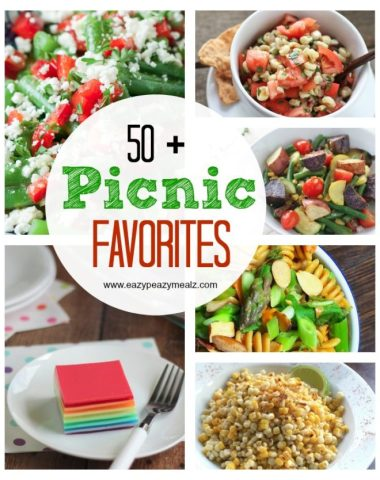 50 picnic favorite recipes