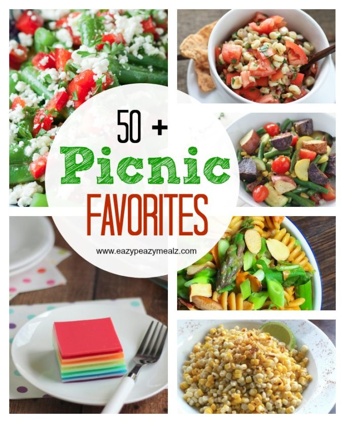50 picnic favorite recipes