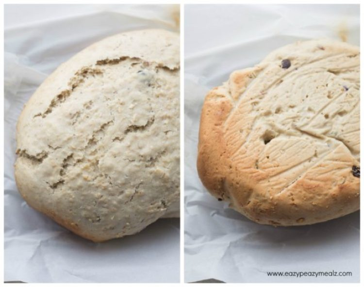 baking process for bread
