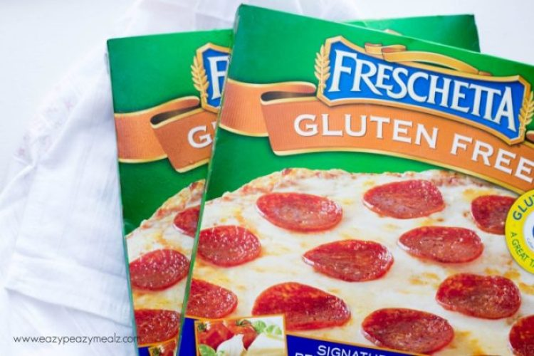 Grilled Pizza: Gluten Free Pizza grilled outside for added flavor.